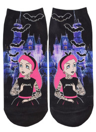 Tattoo Princess Short Socks