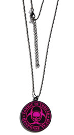 Pink Zombie Response Necklace