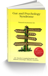 GAPS - Gut Psychology Syndrome book - By Dr Natasha Campbell McBride