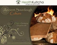 120 year old starter culture from Germany by Health Kultcha. Sourdough contains a Lactobacillus culture, usually in symbiotic combination with yeasts.