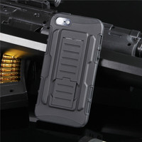 Apple iPhone 5 5S SE Military Heavy Duty Case w/ Optional Holster - 1