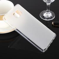 Clear Samsung Galaxy Note 5 Matte Soft Gel Wave Case Cover