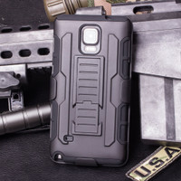 Samsung Galaxy Note 4 Future Rugged Armor Case - 1