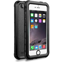 Apple iPhone 5 5S SE Waterproof Dirtproof Heavy Duty Case - Black - 1