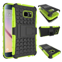 Green Heavy Duty Shock Proof Stand Case For Samsung Galaxy S7