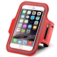 "Red Sports Armband Case For Apple iPhone 6S / 6 4.7"" Holder"