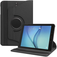 Black Rotating 360 Case for Samsung Galaxy Tab S3 9.7 T820 - 1