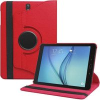 Red Rotating 360 Case for Samsung Galaxy Tab S3 9.7 T820 - 1