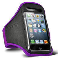 iPhone 5 Armband - Purple