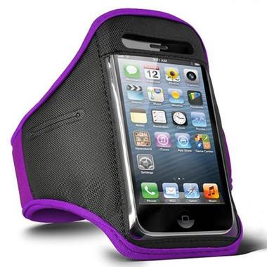 iPhone 5 Armband - Purple
