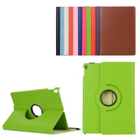 "Green iPad Pro 10.5"" 2017 360 Degree Flip Rotating Synthetic Leather Cover Stand - 1"