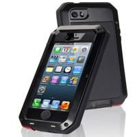 Black Water Resistant Dirtproof Heavy Duty Case For Apple iPhone 7 Plus - 1