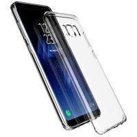 Samsung Galaxy S8 Plus Clear Ultra Thin Slim TPU Gel Skin Cover Case - 1