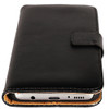 Genuine Black Leather Business Wallet Smart Case For Samsung Galaxy Note 8 - 2
