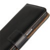Genuine Black Leather Business Wallet Smart Case For Samsung Galaxy Note 8 - 3
