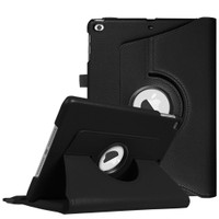 "Black iPad 9.7"" 2018 360 Degree Rotating Stand Protective Case - 1"