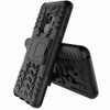 Samsung Galaxy S9 Black Heavy Duty Rugged Kickstand Armour Case - 2