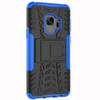 Samsung Galaxy S9 Blue Heavy Duty Defender Kickstand Case - 3