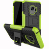 Samsung Galaxy S9 Green Shock Proof Armor Kickstand Case - 1