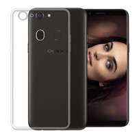 Ultra Slim Shockproof Soft Gel Clear Case Cover For Oppo A57 - 1