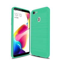 Green Heavy Duty Armor Case Cover for Oppo A57 - 1