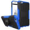 Blue Dual Layer Tough Hybrid Kickstand Case for Oppo A57