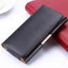 Black Galaxy S9 Premium Leather Belt Clip Pouch Holster Case - 4