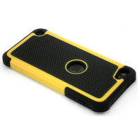 iPod Touch 5 Heavy Duty Case - Yellow -1