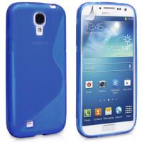 Samsung Galaxy S4 Blue S-Line Curve Case
