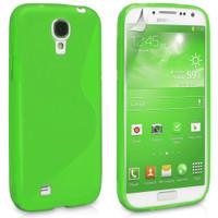 Samsung Galaxy S4 Green S-Line Curve Case