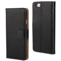 Apple iPhone 6 / 6S Plus Genuine Leather Wallet Case Mobile Phone Cover - 1