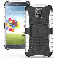 White Spider Tire Tread Defender Kickstand Case for Samsung Galaxy S5 - 1
