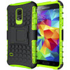 Green Heavy Duty Shockproof Kickstand Case For Samsung Galaxy S5 Mini
