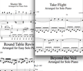 Shatter Me Album - Piano Sheet Music Package