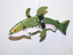 Rainbow Trout Wind Whirlie