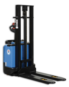 Electric Pallet Stacker with low mast height, 2.9m reach - 1200kg lifting capacity  - E-1229