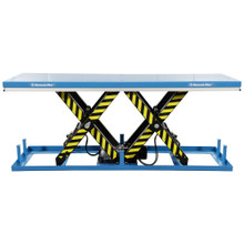 Static Electric Tandem Scissor Lift Table lifting up to 8000kg - TASHT8T