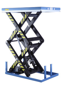 1000kg Electric Double Scissor Lift Table