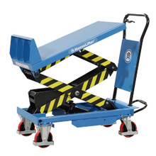Tilting Scissor Lift Table lifting up to 400kg - NHT400