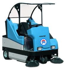 HanseLifter Twin-Top TTD1500 - Ride on Sweeper -  Kubota Diesel Engine