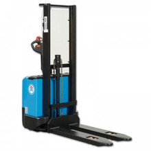 Electric Pallet Stacker with low mast height, 1.6m reach - 1200kg lifting capacity -  E-1216FH