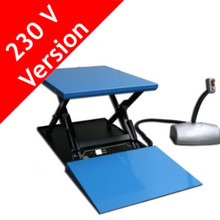 HanseLifter HG : 1000kg Static Electric Lift Table With Ramp 230V