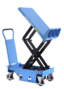 Electric Tilting Scissor Lift Table