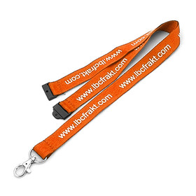 Safety Lanyard Screen Printed - 25mm