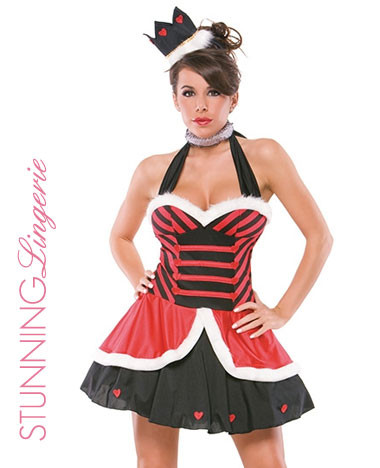 Queens of Hearts Costume