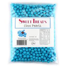 choc pearls blue 1kg