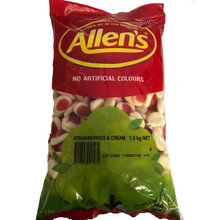 allens strawberries and cream