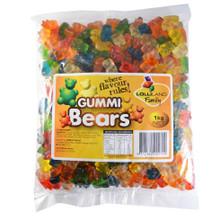 gummi bears 1kg lolliland