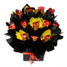 Cherry Ripe chocolate bouquet