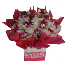 Turkish Delight Chocolate Bouquet